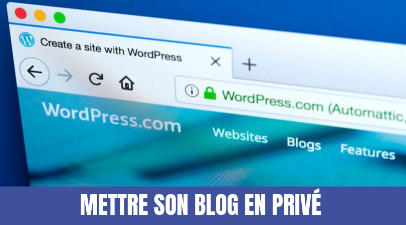 blog privé