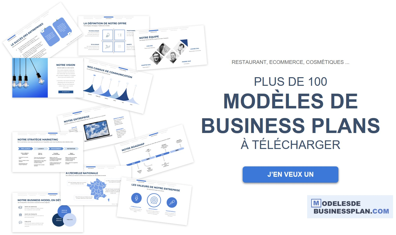 Business plan : 101 idées