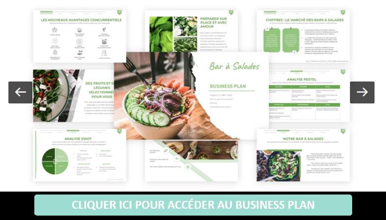 Bar à salades - Business Plan